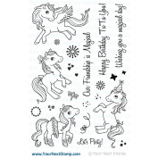 CLEAR STAMPS-PONIES