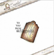 Magnolia Stamps Aspen Holidays - To You Wood Tag Kit