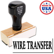 Acorn Sales - Wire Transfer Rubber Stamp