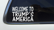 ThatLilCabin - Welcome To Trump's America 20cm AS306 car sticker decal