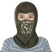 Leories Winter Fleece Windproof Ski Mask Warm Full Face Cover Anti-dust Balaclava