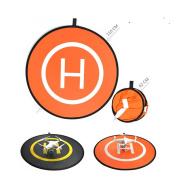 iKNOWTECH Reversible Protective Landing Pad Helipad Safe Pad, Universal Landing Pad Fast-fold Gimbal Reversible Helipad For DJI Phantom 2/3/4/Inspire 1/Drone