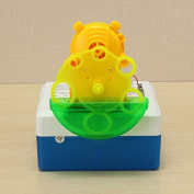 New Bubble Fountain Floating Ball Flying Saucer Machine Manual Fan DIY Machine Kit By KTOY