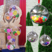 New 30PCS 5mm Plastic Ball DIY Christmas Tree Hanging Bauble Decoration Ornament By KTOY