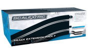 Scalextric Extension Pack 7 1:32 Scale Straights x 4 Curves x 4 C8556 Slot Car Track