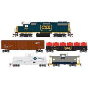 Roundhouse RND14266 HO Iron Horse Train Set, CSX