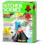 4M Kitchen Science Kit, Educational Toy 6 Experiments Chemistry Lab, New