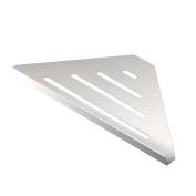 Gatco 1464 Elegant Corner Shelf, Brushed, 33cm
