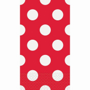 Red Polka Dot Paper Guest Napkins, 40ct