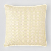 1872 Bloomingdale's Embossed Decorative Pillow 50cm x 50cm Gold