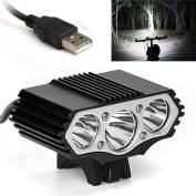 Bicycle HeadLight, 12000 Lm 3 x XML T6 LED 3 Modes Bicycle Lamp Bike Light Headlight Cycling Torch