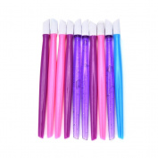 Eshylala 10 PCS Plastic Cuticle Pusher,Nail Art Tool