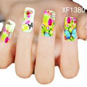 Awtang Girls Favour Decals for Nail Resin Convenient Nail Arts Sticker
