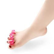 Red Silicone Separate Toe Foot Hallux Valgus Pro Orthopaedic Supplies Bunion Splint Safe Feet Guard Bone Foot Care Tool