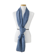 SeHOON Solid pattern Stitch Korea Long shawl Chiffon Wrap Scarf