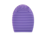 Beauties Factory BF Silicone Cleaning Cosmetic Makeup Brush Cleaner Scrubber Foundation Tool Violet CODE