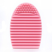 Egmy Cleaning Glove MakeUp Washing Brush Scrubber Board Cosmetic Clean
