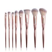 Susenstone 8PCS Make Up Foundation Eyebrow Eyeliner Blush Cosmetic Concealer Brushes