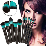 Makeup Brush,SMTSMT 10PCS Cosmetic Makeup Brush Brushes Set