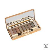 9 Colours Shimmer Eyeshadow Eye Shadow Palette & Makeup Cosmetic Brush Set