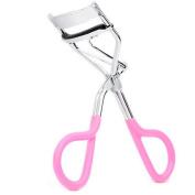 1pcs Women Lady Wonderful Pro Handle Eye Lashes Curling False Eyelashes Beauty Pink