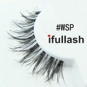 #WSP, 6 Pairs ifullash 100% Human Hair Eyelashes