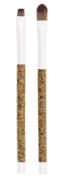 Danielle Cork Collection Eyeshadow/Eyeliner Duo Makeup Brush Set, White
