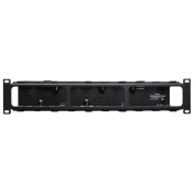 TRIPP LITE Rack Enclosure Horizontal Cable Manager Steel with Finger Duct 2URM SRCABLEDUCT2UHD Black