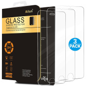 iPhone 6s Screen Protector,iPhone 6 Screen Protector,[3 Pack]by Ailun,Tempered Glass for 12cm iPhone 6,iPhone 6s,2.5D Edge,Case Friendly,SIANIA Retail Package