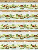 Stoney River by Deborah Edwards from Northcott 100% Cotton Quilt Fabric 21116 32 fishing