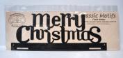 Classic Motifs 41cm Christmas Tab Charcoal Craft Holder