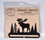 Classic Motifs 15cm Alaska Moose Craft Holder