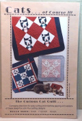 Cats of Course Curious Cat Quilt pattern