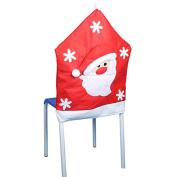 ELEOPTION Christmas Chair Covers 5065cm for Home Adornos Navidad Merry Christmas Xmas Coverings Kerst