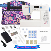 Janome NQM2016 National Quilt Museum 25th Anniversary Edition with Exclusive Bonus Bundle