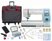 Janome Horizon Memory Craft 8900QCP Sewing and Quilting Machine With Exclusive Bonus Bundle [Special Edition]