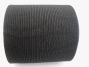 10cm Wide Black Heavy Knit Stretch ELASTIC 15 Yards by Prolastic