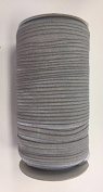 ModaTrims Wholesale 1.6cm Fold Over Elastic Stretch FOE for Headbands and Hair Ties, 200 Yard Roll, Grey