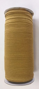 ModaTrims Wholesale 1.6cm Fold Over Elastic Stretch FOE for Headbands and Hair Ties, 200 Yard Roll, Mustard