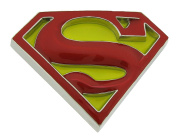Superman Belt Buckle Comics 3d Red Yellow Original Officially Licenced Product