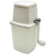 Winco ICP-9, Manual Portable Ice Crusher, White Ice Chopper Grinder, Fine or Coarse Ice Chips