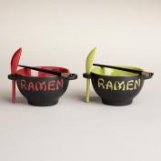TWO Ramen Bowl Set