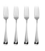 Oneida Satin Sand Dune Dinner Forks, Set of 4