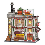 Department 56 Christmas In The City Coca-Cola Bottling Company