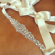 Trlyc . Trlyc Wedding Belt, Bridal Belt, Wedding Sash, Bridal Sash, Crystal Rhinestone Belt, Wedding Dress Sash Belt, Jewelled Beaded Belt