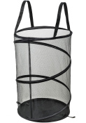 NYHI Pop-Up Mesh Laundry Hamper With Reinforced Handles