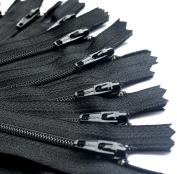 YKK #3 Skirt & Dress Zippers 23cm Closed Bottom ~ 580 Black
