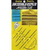 Assorted Beading & Craft Needles Household Repair Needle Set 26 pcs