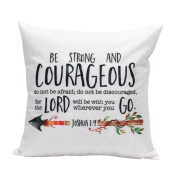 Lucoo 2017 Christmas Lovely New Fashion soft comfortable Letters Pillow Case Sofa Waist Throw Cushion Cover Home Decor