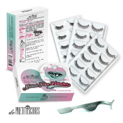 de Prettilicious 15-PAIR (3 Different style) Natural False Eyelashes Set. CRAZY LAUNCHING SALE. Best gift for her, perfect for Thanksgiving and Christmas presents. 100% Risk Free Guarantee.